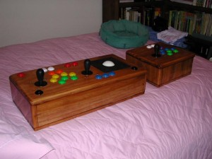 Both boxes with controls - left